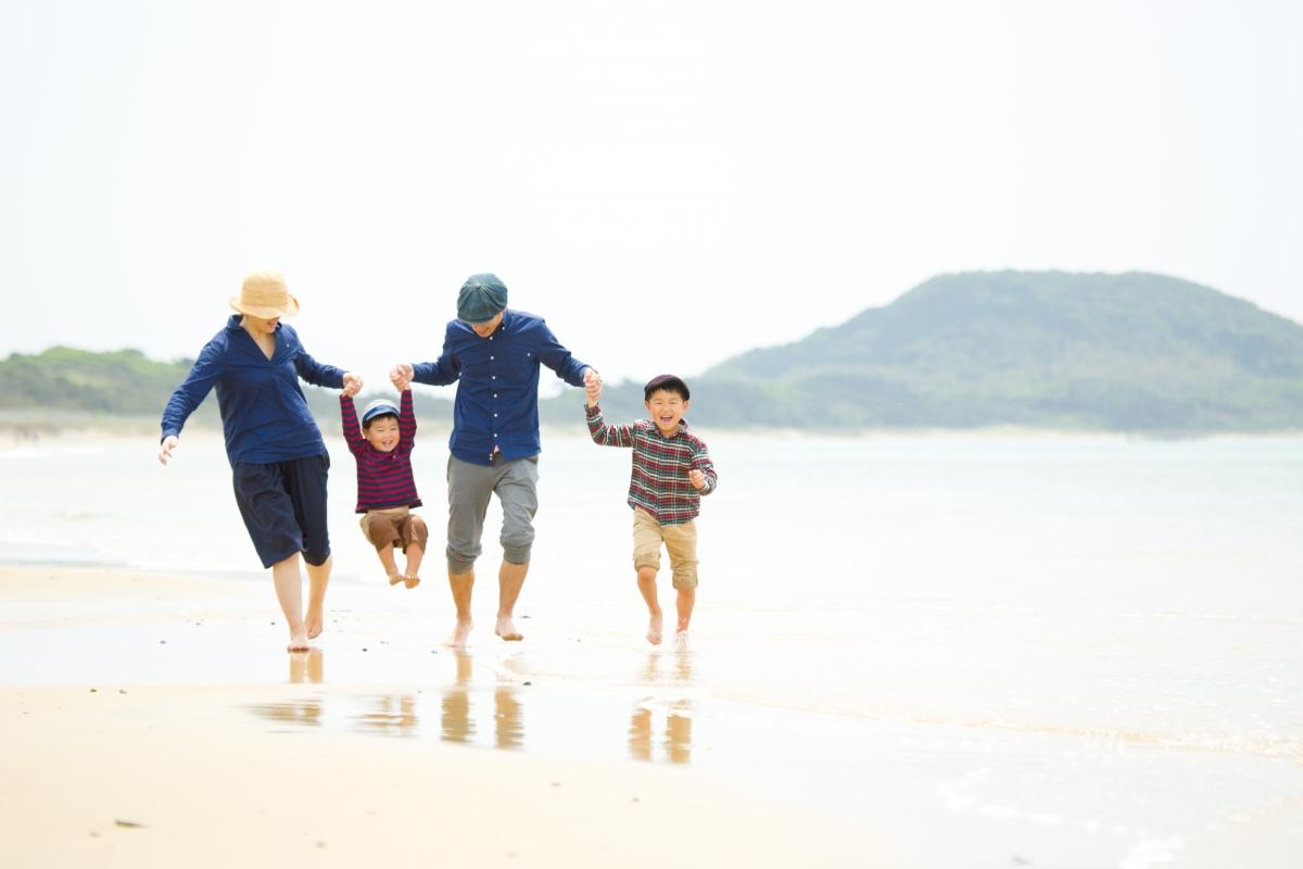 海で撮影☆